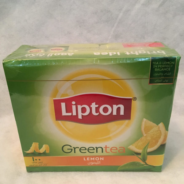 Lipton Greentea Lemon 100bags